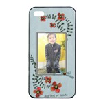 Apple iPhone 4/4s Seamless Case: Cherished Memories5 - Apple iPhone 4/4s Seamless Case (Black)