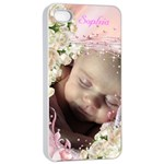 Apple iPhone 4/4 seamless Case - Precious - Apple iPhone 4/4s Seamless Case (White)