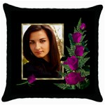 Just perfect Throw Cushion - Throw Pillow Case (Black)