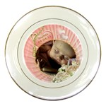Birth Plate - Porcelain Plate
