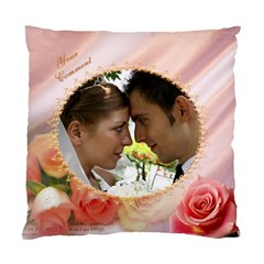 Love You Cushion Cover (2 Sided) By Deborah   Standard Cushion Case (two Sides)   46u7cgk6lk07   Www Artscow Com Front