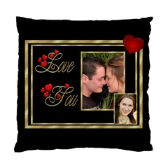 Love You (2 Sided) Cushion Case By Deborah   Standard Cushion Case (two Sides)   M585a2tclasf   Www Artscow Com Front