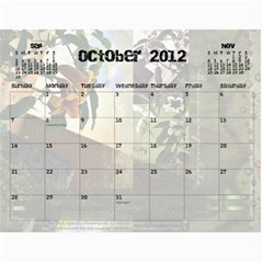 2012 Calendar By Carola Tolleson   Wall Calendar 11  X 8 5  (12 Months)   Paphm8uytihy   Www Artscow Com Oct 2012