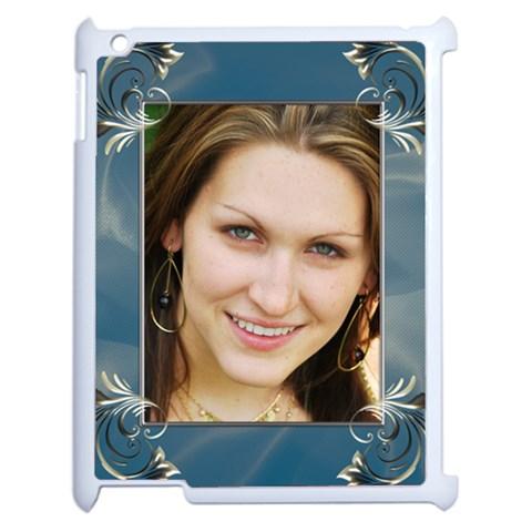 My Iced Apple Ipad 2 Case By Deborah   Apple Ipad 2 Case (white)   Do3vck69kuek   Www Artscow Com Front