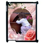 Apple iPad 2 case - My little princess - Apple iPad 2 Case (Black)