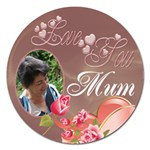 Love you magnet 5 inch - Magnet 5  (Round)