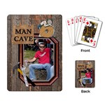 Man Cave Playing Cards - Playing Cards Single Design