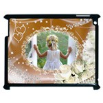 Apple iPad 2 case - golden love - Apple iPad 2 Case (Black)