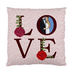 Love By Joely   Standard Cushion Case (two Sides)   Bw0hvmvkcc16   Www Artscow Com Front
