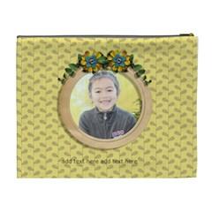 Xl Cosmetic Bag: Moments 13 By Jennyl   Cosmetic Bag (xl)   Q8g9zqevjw3j   Www Artscow Com Back