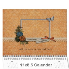 Polly 2 By Karen Bailey   Wall Calendar 11  X 8 5  (12 Months)   Hsha0lomk88y   Www Artscow Com Cover