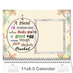 The Best One By Karen Bailey   Wall Calendar 11  X 8 5  (12 Months)   G9ojtrhim08i   Www Artscow Com Cover
