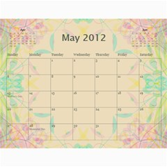 The Best One By Karen Bailey   Wall Calendar 11  X 8 5  (12 Months)   G9ojtrhim08i   Www Artscow Com May 2012