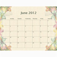 The Best One By Karen Bailey   Wall Calendar 11  X 8 5  (12 Months)   G9ojtrhim08i   Www Artscow Com Jun 2012