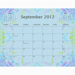 The Best One By Karen Bailey   Wall Calendar 11  X 8 5  (12 Months)   G9ojtrhim08i   Www Artscow Com Sep 2012