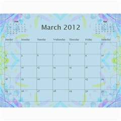 The Best One By Karen Bailey   Wall Calendar 11  X 8 5  (12 Months)   G9ojtrhim08i   Www Artscow Com Mar 2012