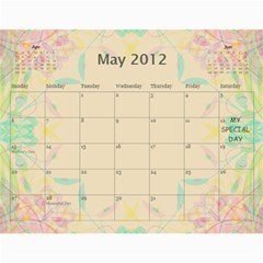 The Best One By Karen Bailey   Wall Calendar 11  X 8 5  (12 Months)   Qd87h0j7x2mj   Www Artscow Com May 2012