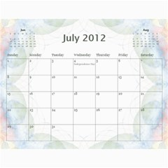 The Best One By Karen Bailey   Wall Calendar 11  X 8 5  (12 Months)   Qd87h0j7x2mj   Www Artscow Com Jul 2012