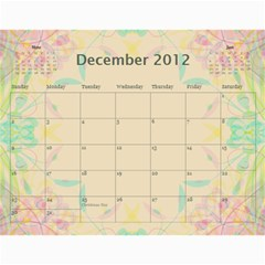 The Best One By Karen Bailey   Wall Calendar 11  X 8 5  (12 Months)   Qd87h0j7x2mj   Www Artscow Com Dec 2012