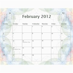 The Best One By Karen Bailey   Wall Calendar 11  X 8 5  (12 Months)   Qd87h0j7x2mj   Www Artscow Com Feb 2012