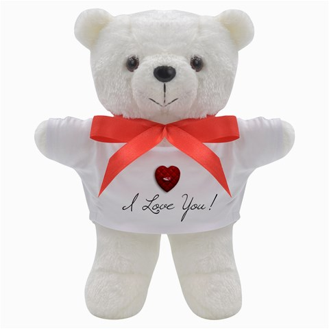 Teddy Bear: I Love You! By Jennyl   Teddy Bear   Gsiwthh89u6n   Www Artscow Com Front