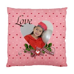 Cushion Case (two Sides): Love By Jennyl   Standard Cushion Case (two Sides)   Xpc75atikrzf   Www Artscow Com Front