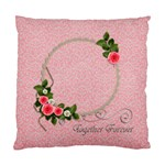 Cushion Case (Two Sides): Together Forever - Standard Cushion Case (Two Sides)