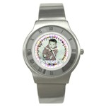 I love my little cupcake watch - Stainless Steel Watch
