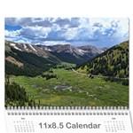 Karen Leach 3 - Wall Calendar 11  x 8.5  (18 Months)