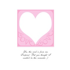 Be My Valentine Balloon Card Pink By Claire Mcallen   Greeting Card 5  X 7    Zuzw7l9hr4ia   Www Artscow Com Back Cover