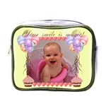 Your Smile is Magic! Mini toiletry bag - Mini Toiletries Bag (One Side)