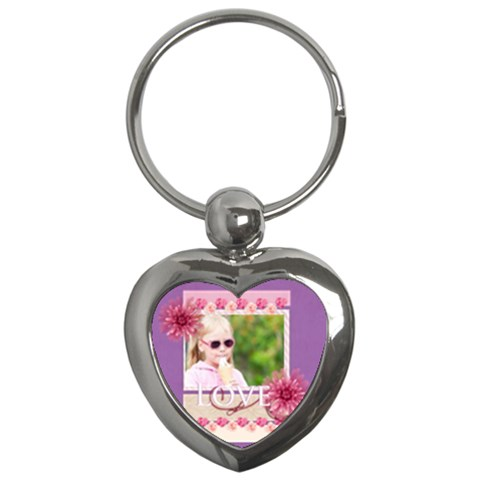 Love By Joely   Key Chain (heart)   Jy0f5r63a5ds   Www Artscow Com Front