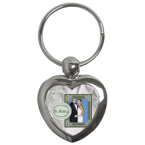 Love By Joely   Key Chain (heart)   1tj87ytysicd   Www Artscow Com Front
