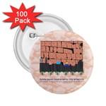 Jerusalem Skyline 2.25  Button (100 pack)