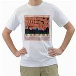 Jerusalem Skyline White T-Shirt