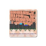 Jerusalem Skyline Magnet (Square)