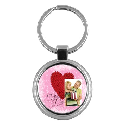 Love By May   Key Chain (round)   Rvwd2q78nfrv   Www Artscow Com Front