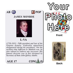 Jack  founding Fathers  Statesmen (action) 2012 By Tom Heaney   Playing Cards 54 Designs   6hx8r6lbrbt7   Www Artscow Com Front - DiamondJ