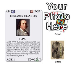 Jack  founding Fathers  Statesmen (action) 2012 By Tom Heaney   Playing Cards 54 Designs   6hx8r6lbrbt7   Www Artscow Com Front - ClubJ