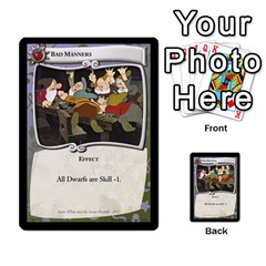 Snow White 1 Of 4 By Orion s Bell   Multi Purpose Cards (rectangle)   Gyf9omh2dsva   Www Artscow Com Front 8