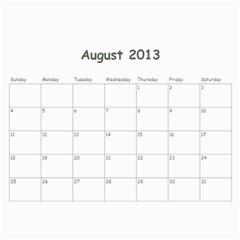 Calendar 18 Mo 2012 2013 By Lyn Clarke   Wall Calendar 11  X 8 5  (18 Months)   Iekc514q24xn   Www Artscow Com Aug 2013
