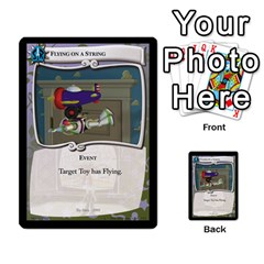 Toy Story 2 Of 5 By Orion s Bell   Multi Purpose Cards (rectangle)   Ox7copdqfqtm   Www Artscow Com Front 15