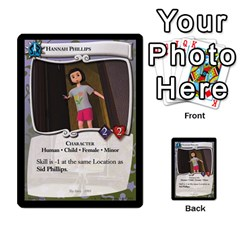 Toy Story 2 Of 5 By Orion s Bell   Multi Purpose Cards (rectangle)   Ox7copdqfqtm   Www Artscow Com Front 23