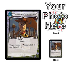 Toy Story 2 Of 5 By Orion s Bell   Multi Purpose Cards (rectangle)   Ox7copdqfqtm   Www Artscow Com Front 35