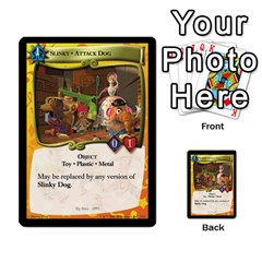 Toy Story 4 Of 5 By Orion s Bell   Multi Purpose Cards (rectangle)   Hrcllpl5y7j1   Www Artscow Com Front 13