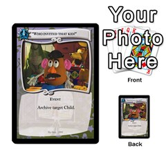 Toy Story 5 Of 5 By Orion s Bell   Multi Purpose Cards (rectangle)   Fl3k303ut9uk   Www Artscow Com Front 9