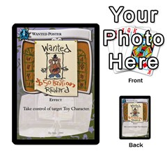 Toy Story 5 Of 5 By Orion s Bell   Multi Purpose Cards (rectangle)   Fl3k303ut9uk   Www Artscow Com Front 19