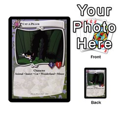Alice In Wonderland 3 Of 6 By Orion s Bell   Multi Purpose Cards (rectangle)   Lhpu4miecxke   Www Artscow Com Front 15