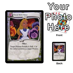 Alice In Wonderland 3 Of 6 By Orion s Bell   Multi Purpose Cards (rectangle)   Lhpu4miecxke   Www Artscow Com Front 23