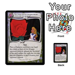 Alice In Wonderland 3 Of 6 By Orion s Bell   Multi Purpose Cards (rectangle)   Lhpu4miecxke   Www Artscow Com Front 27